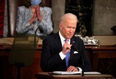 نخستین حضور جو بایدن در کنگره