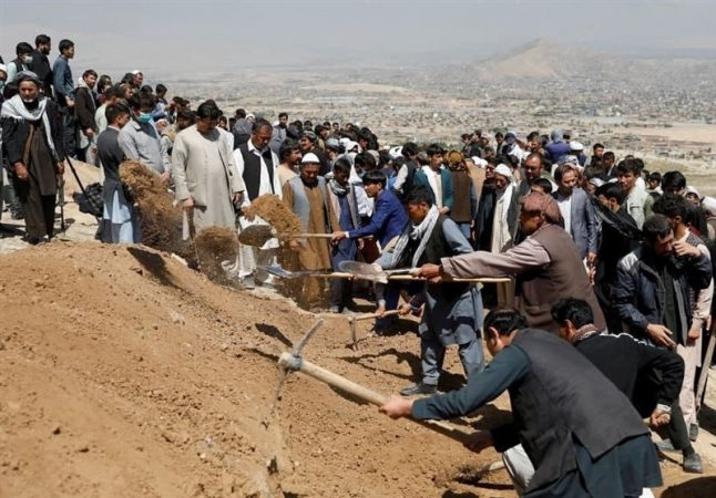 افغانستان| شهدای دبیرستان «سیدالشهداء» در کابل به ۶۸ نفر افزایش یافت