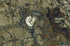 تصویر فضانورد ژاپنی از مکه مکرمه