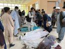 اجساد قربانیان انفجار مقابل مدرسه دخترانه در کابل