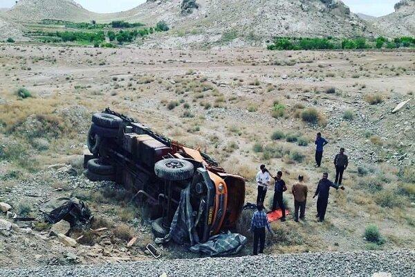 لغزندگی جاده تفت به ابرکوه ۲ تصادف با ۳ کشته بر جا گذاشت